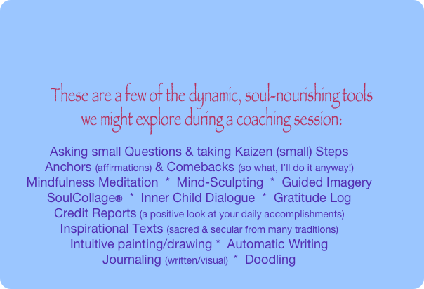 These are a few of the dynamic, soul-nourishing tools 